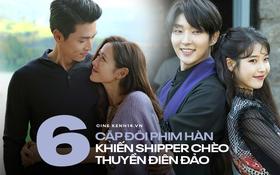 """6 cặp đôi bạn diễn ngọt như mía lùi ở màn ảnh Hàn mà fan chỉ muốn thét lên: """"Hai vị yêu nhau dùm đi!"""""""