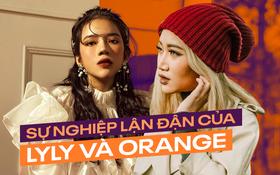 Sự nghiệp lận đận của Orange và LyLy: người là hit-maker nhưng giọng hát bị lu mờ, người ngồi thở cũng có thị phi bủa vây