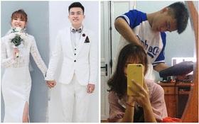 Trường cho nghỉ dịch, 2 sinh viên ở nhà lâu quá nên quyết định... cưới nhau