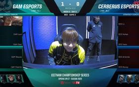 """Ma Vương Zeros """"comeback"""", GAM hủy diệt Ceberus trong trận đầu tiên lượt về VCS Mùa Xuân 2020"""