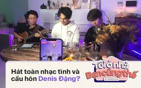 """Nguyễn Trần Trung Quân """"mở bát"""" Radio Live Concert: Hát một lèo các ca khúc vừa cũ vừa mới, """"tỏ tình"""" Denis Đặng và lộ diện luôn """"gà mới"""" được rủ hát chung!"""