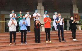 Hà Nội: Điều dưỡng BV Bạch Mai, 3 nhân viên công ty Trường Sinh và 5 bệnh nhân khác được công bố khỏi bệnh