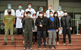 Ảnh: 11 bệnh nhân điều trị Covid-19 tại BV Nhiệt đới Trung ương khỏi bệnh, Việt Nam đã chữa trị khỏi 75 ca bệnh