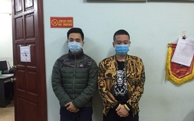"""Hà Nội: 8 thanh niên tụ tập ăn nhậu bất chấp quy định """"cách ly toàn xã hội"""", đấm công an khi bị nhắc nhở"""
