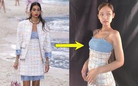 """Không mê Jennie không được ấy: Chẳng cần body chuẩn siêu mẫu vẫn """"chặt đẹp"""" dàn model chuyên nghiệp khi diện đồ Chanel"""