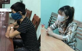 Đo thân nhiệt phòng chống dịch Covid-19, bất ngờ phát hiện đôi nam nữ dương tính với ma túy