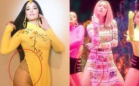 """Gây tranh cãi vì bị cho là mặc áo dài cách tân không quần """"kém duyên"""" trong MV mới, ekip Hoàng Thuỳ Linh nói gì?"""