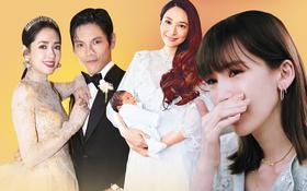 """Chuyện mẹ chồng - nàng dâu giới siêu giàu Cbiz: Ming Xi bị coi như """"máy đẻ"""", Vương Diễm chẳng khác nào người làm"""