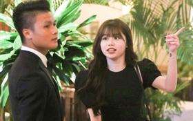 Hot: Quang Hải đưa Huỳnh Anh cùng đi dự lễ trao giải Quả bóng vàng Việt Nam 2020