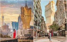 """Cận cảnh công trình để đời nhất của """"ông trùm"""" sòng bạc Macau vừa qua đời: Toà nhà hình búp sen vàng khổng lồ, hình check-in ngập tràn MXH"""