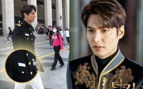 """Ảnh hậu trường dự báo twist gây sốc ở Quân Vương Bất Diệt: Suy luận đủ kiểu, cuối cùng """"song trùng"""" của Lee Min Ho vẫn sống nhăn?"""