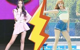 """Cuộc chiến chân dài của """"em gái quốc tế"""" Lisa và """"thủy thủ mặt trăng"""" Jang Won Young: Cùng chân dài đến nách nhưng style lại khác biệt quá đỗi"""