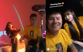 Fan soi ra Quang Hải từng mặc áo đôi với Huỳnh Anh khi hẹn tặng hoa Nhật Lê ngày 8⁄3