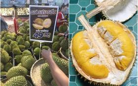 """Không cần bàn cãi, sầu riêng chính là loại """"trái cây vua"""" mùa hè này ở Việt Nam: Liên tục được săn đón từ ngoài đời lên tới MXH vì giá quá rẻ!"""
