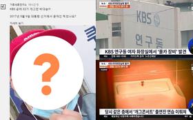 Top 1 Naver hôm nay: Công bố chân dung sao Hàn bị nghi gắn camera quay lén tại nhà vệ sinh nữ đài KBS