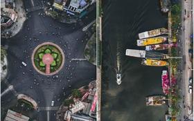 """Không tin vào mắt mình trước bộ ảnh chụp Sài Gòn từ trên cao đang """"gây bão"""" MXH: Xem hình, bạn đoán được đúng tên bao nhiêu địa điểm?"""