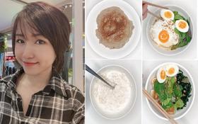 """4 món ăn sáng Eat Clean của Uyên Pu vừa ngon, bổ, rẻ với """"giá sinh viên"""" vừa dễ chế biến cho các nàng học hỏi đây"""