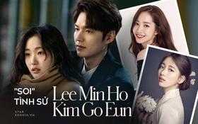 Tình sử Lee Min Ho - Kim Go Eun trước khi bén duyên: Nàng chỉ thích các chú, nhìn dàn tình cũ quyền lực của chàng mà choáng