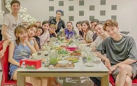 """Cuối cùng thành viên được chờ đợi nhất đã xuất hiện trong hội bạn đắt giá của Đông Nhi: """"Gia đình văn hoá"""" đầy đủ rồi!"""