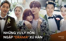 """Sao Hàn ly hôn ngập """"drama"""" chấn động: Màn đấu tố của Song Song hay Goo Hye Sun chưa sốc bằng vụ đánh vợ sảy thai"""