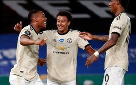 Song tấu Rashford - Martial ghi bàn: Manchester United nối dài mạch bất bại lên 19 trận