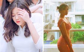 Nữ sinh Đại học Hà Nội từng lên trang tin quốc tế, nói được 3 thứ tiếng, ngoài đời có phong cách vừa sexy vừa chất