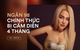 Quyết định chính thức từ Sở Văn Hoá: Ngân 98 bị cấm diễn 4 tháng, xử phạt quán bar 40 triệu đồng vì bê bối mặc phản cảm