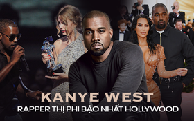 Ứng cử viên Tổng thống Mỹ Kanye West: Con rể đế chế Kardashian, thiên tài thị phi gây thù với Taylor Swift và cả showbiz