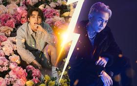 """Ra mắt cùng lúc, netizen đặt Sơn Tùng M-TP """"good boy"""" hường phấn lên bàn cân so sánh với Binz """"bad boy"""" thú vị và ấn tượng"""