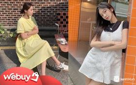 """Váy babydoll đang được các """"bánh bèo"""" diện ầm ầm, các nàng còn chần chừ gì mà không """"múc"""" liền một em"""