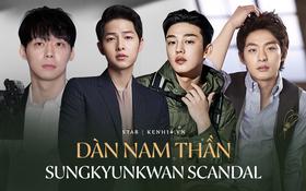 """""""Lời nguyền"""" 10 năm bủa vây dàn sao nam Sungkyunkwan Scandal: Hết bê bối chấn động đến tự tử, Song Joong Ki ồn ào nhất"""