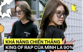 Pháo - cô nàng rapper 17 tuổi: Tham dự King Of Rap vì tên show ngầu hơn Rap Việt, nếu không theo nghệ thuật nhất định sẽ đi bán trà đá!