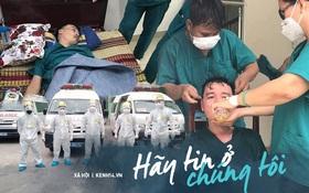 """Phó Giám đốc 115 Đà Nẵng nói về hình ảnh bác sĩ làm việc đến kiệt sức: """"Trận chiến còn dài, chúng tôi quyết không ngã quỵ"""""""