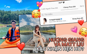"""CEO Matt Liu gia nhập hội """"chỉ theo đuổi mình em"""": Follow duy nhất Hương Giang, lời xác nhận hẹn hò là đây?"""