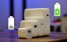 Bất ngờ với kết quả thử nghiệm 8 cách sạc iPhone, cách nào nhanh nhất?