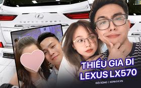 """Hai thiếu gia Hà Nội đi Lexus LX 570: Gia thế khủng, nổi tiếng và có """"cô ấy"""" cực xinh"""