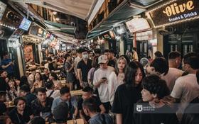 Tạ Hiện trở lại ngày Hà Nội trở lạnh: Người đông nghịt không có chỗ nhích chân!