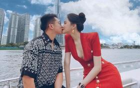 """Vừa tặng xe hơi 8 tỷ, Matt Liu tiếp tục công khai ảnh hôn môi Hương Giang: """"Gắt"""" quá rồi anh ơi!"""