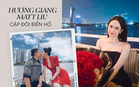 Check địa điểm hẹn hò Hương Giang - Matt Liu mới thấy đây là cặp đôi biển hồ, phải hẹn hò ở chỗ có sông nước mới chịu!