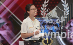 Chung kết Đường lên đỉnh Olympia năm thứ 20: Nữ thí sinh duy nhất giành ngôi vô địch!