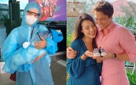 Clip: Hành trình đoàn tụ đầy xúc động từ Việt Nam sang Singapore của MC Hoàng Oanh, quý tử mới sinh và chồng Tây