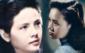 Bức ảnh của hoa khôi trường Dược Hà Nội 1955 được phục chế gây bão, soi ra profile càng nể phục