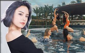 Rạng sáng Thái Trinh đăng status hé lộ cách xử lý của resort 5 sao sau lùm xùm ngộ độc