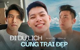 """3 nam thần travel blogger mới của Việt Nam: Vì quá đẹp trai nên fan """"mê như điếu đổ"""", có người còn bỏ việc để được du lịch khắp nơi"""