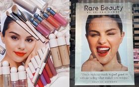 """Mỹ phẩm Rare Beauty của Selena Gomez ra mắt hoành tráng, fan nô nức mua bill """"khủng"""" dài như sớ"""