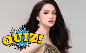 Quiz: Bạn có theo dõi Hương Giang qua tất cả các show thực tế?