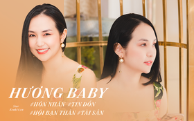 """Hương Baby trải lòng về 6 năm hôn nhân với Tuấn Hưng: """"Có thời điểm cả hai gần như đã dừng lại"""""""