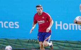 Messi giữ lời, và bầu trời Barca lại sáng