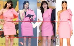 Dù cao hay thấp thì các sao Hàn đều xài chung một chiêu để trang phục tôn dáng, bảo sao nhìn ai cũng dáng đẹp nuột nà