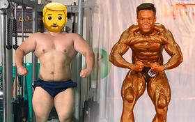 Từ 146 kg, chàng trai béo phì lột xác thành nhà vô địch tuyệt đối ở Giải thể hình danh giá nhất Việt Nam